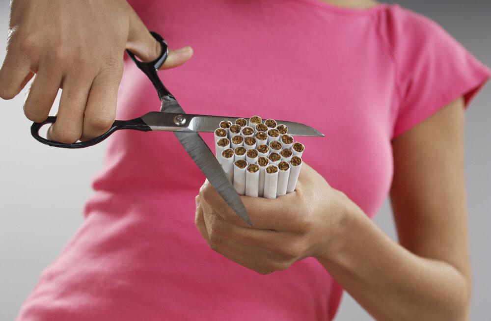 Suitsetamisest loobunul on raskem kaalu langetada võrreldes sellega, kui ta hakkaks kaalu langetama ja suitsetaks edasi