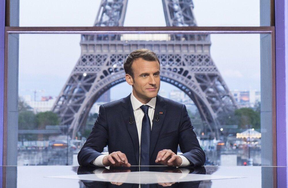 Macron: Prantsusmaa ei ole Süüria režiimile sõda kuulutanud