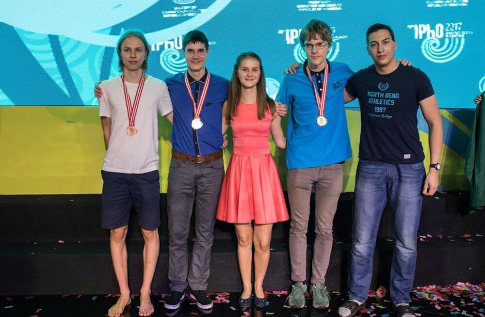 NUPUTAMIST | Vaata, millist ülesannet pidid lahendama Eesti noored rahvusvahelisel füüsikaolümpiaadil