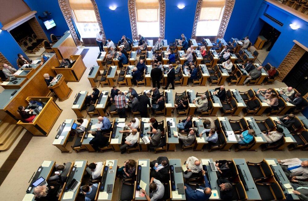 Eesti Panga nõukogu esimehe valimine Riigikogus