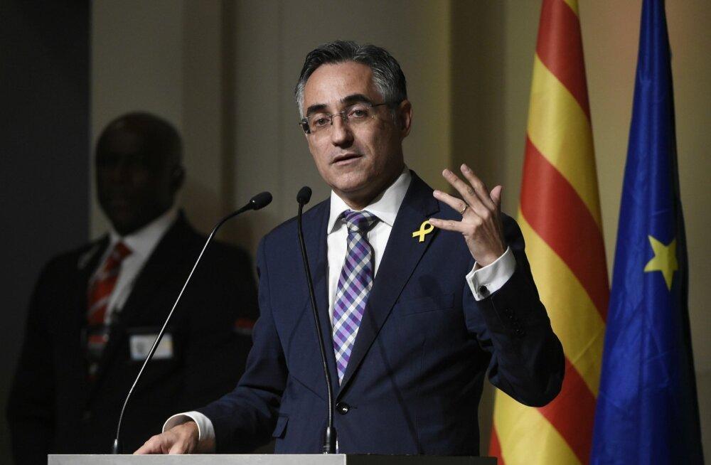Kaja Kallas: europarlamendi fraktsioonikaaslased ei taha tüli pärast Kataloonia üle ühes ruumiski istuda