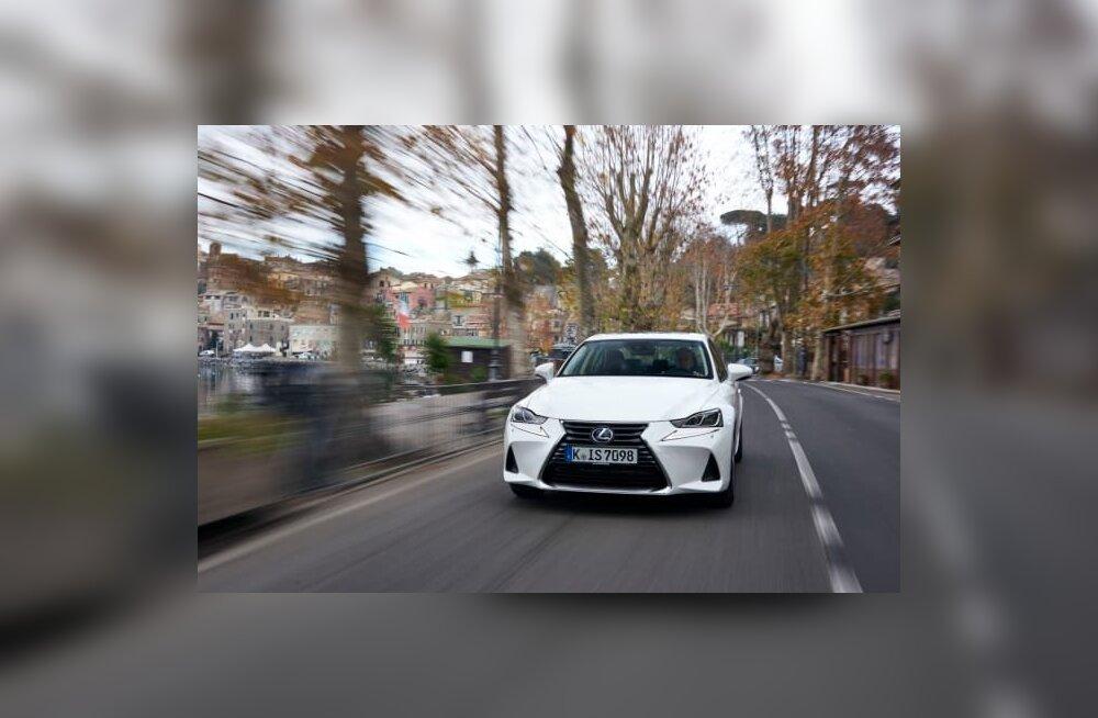 Toomas Vabamäe gurmee: Lexus IS 300h, sujuvuse ja vaikuse võrdkuju