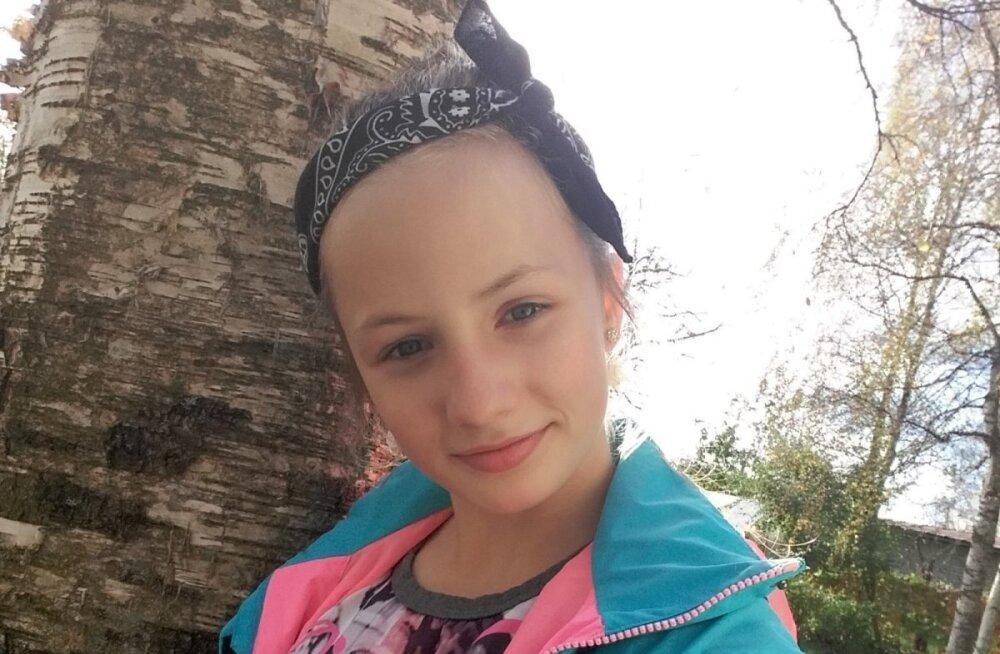 ФОТО: Пять дней назад пропала 12-летняя Кятлин. Полиция просит помощи