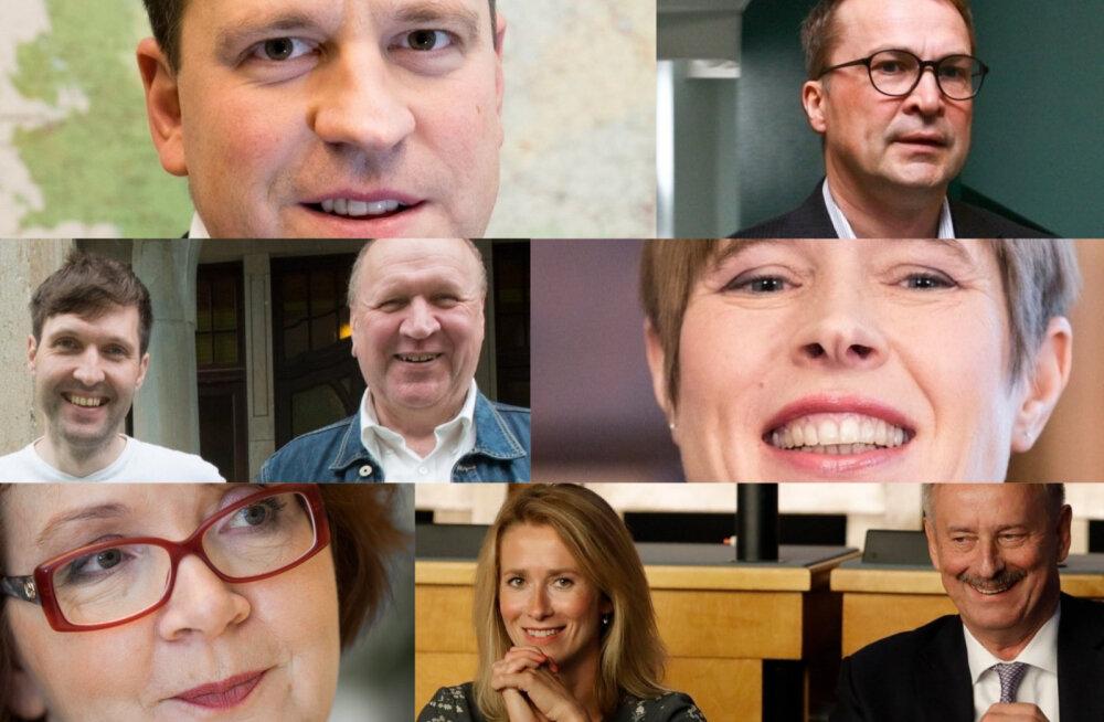 Зажгли в 2018 году: 100 самых влиятельных людей Эстонии по версии Delfi и EPL