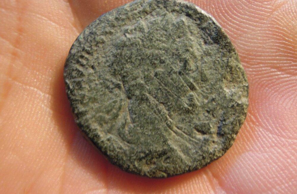 Läänemaalt leiti Rooma münt