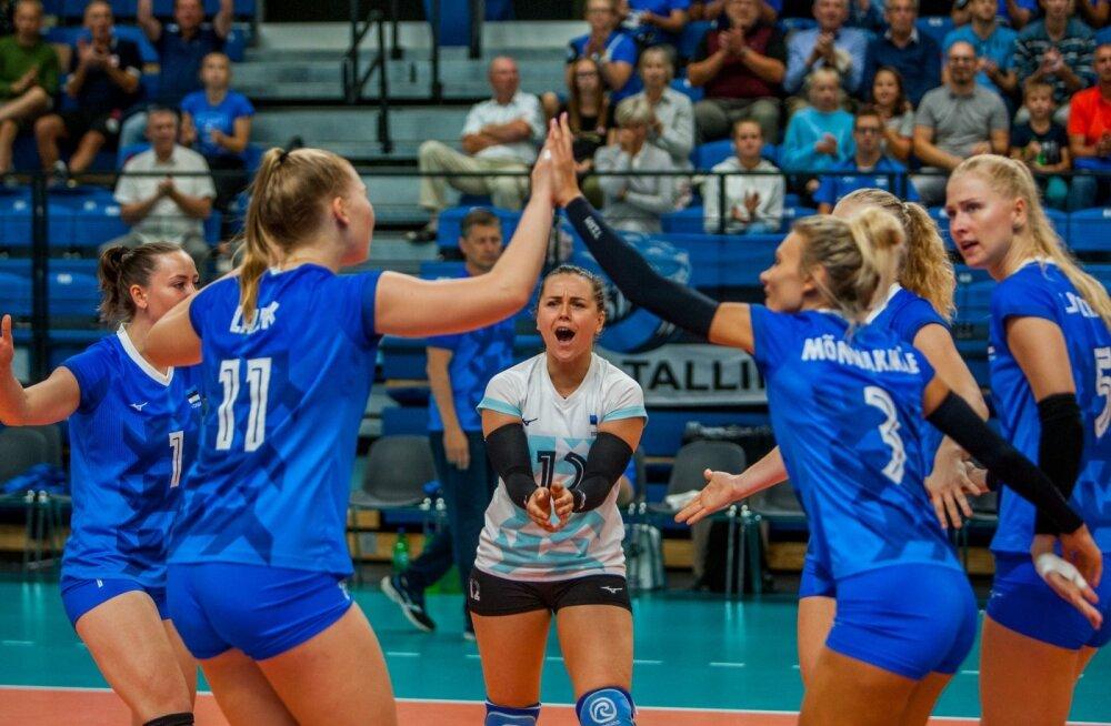 Eesti võrkpallinaiskond