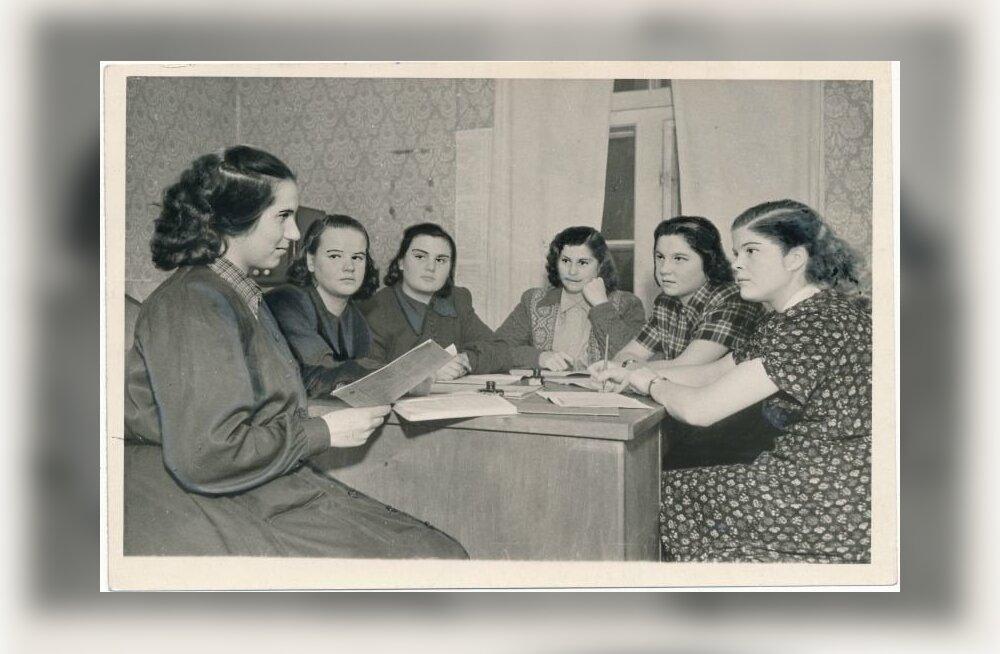 koosolek Lenini-nim. kolhoosis.