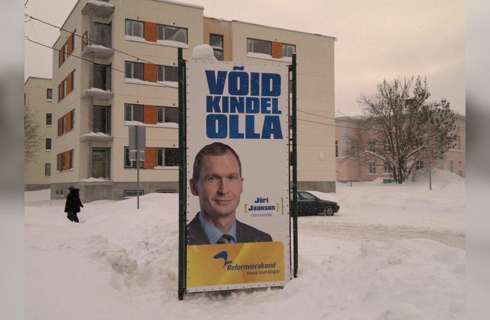 FOTO: Reformierakond alustas välikampaaniaga