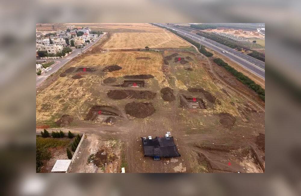"""Израильские археологи обнаружили доисторический """"райский уголок"""""""