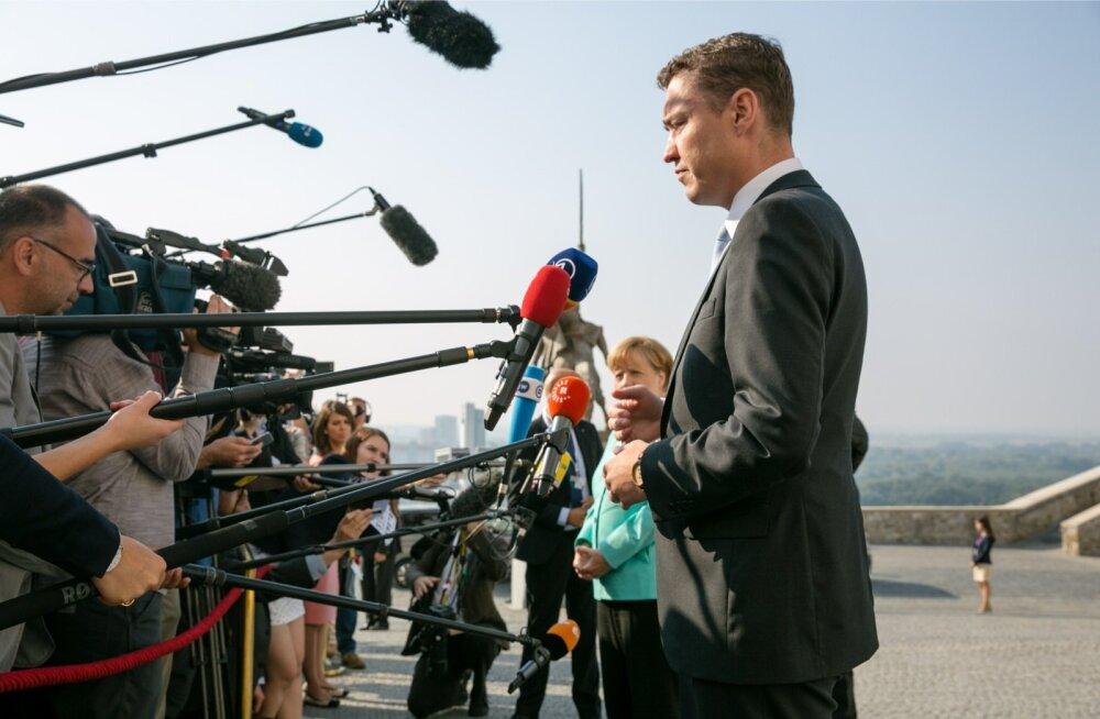 Pole välistatud, et Eesti peaminister Taavi Rõivas astub EL-i liidrite kohtumisel ajakirjanike ette ka Tallinnas.