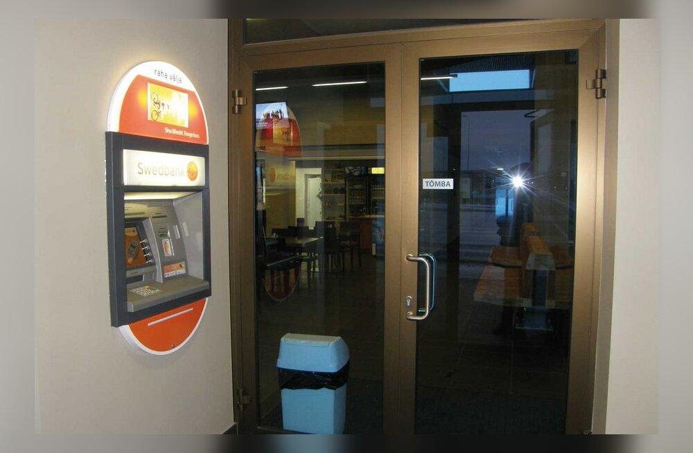 Virtsu jääb ilma pangaautomaadita