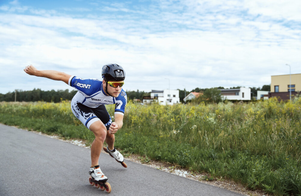TRENNISPIKKER | Kas teadsid, et rulluisutamine on hea kõhulihaste trenn?