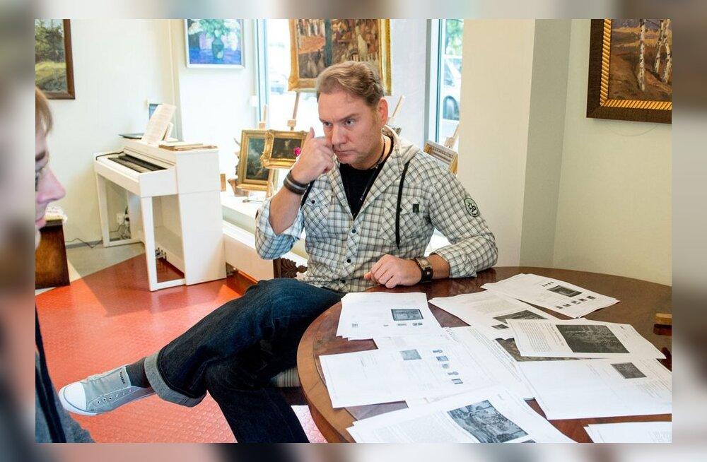 Mart Sanderi galerii lõpetas netimüügi