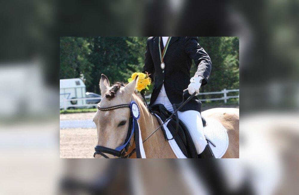 Ajalooline hetk: eesti tõugu hobune Euroopa meistrivõistlustel