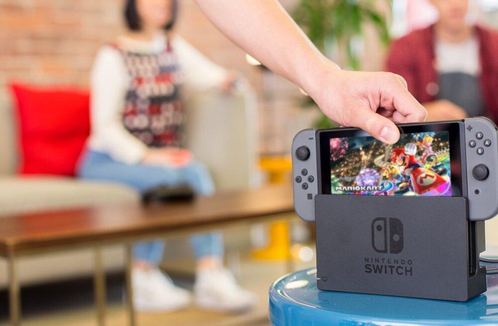 Nintendo konsool Switch oli kümne kuuga edukam kui eelkäija Wii U kogu elu jooksul (ja kulub ära, sest 2018. a tuleb raskem)