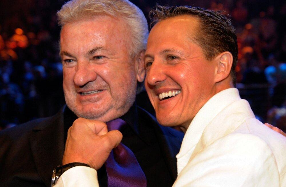 Willi Weber ja Michael Schumacher.