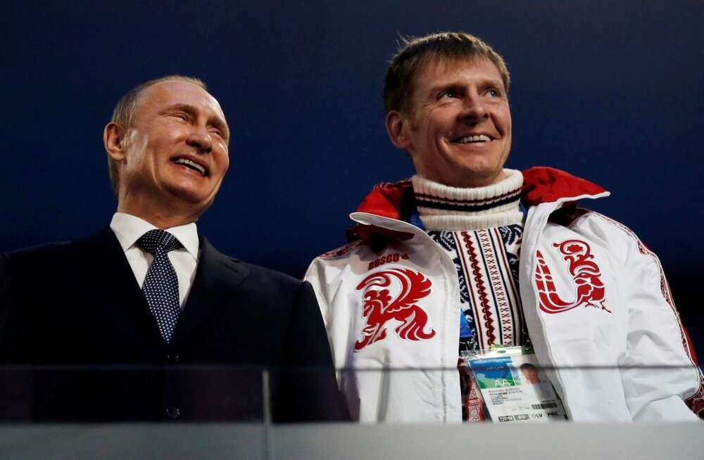 Venemaa president Valdimir Putin koos Aleksandr Zubkoviga.