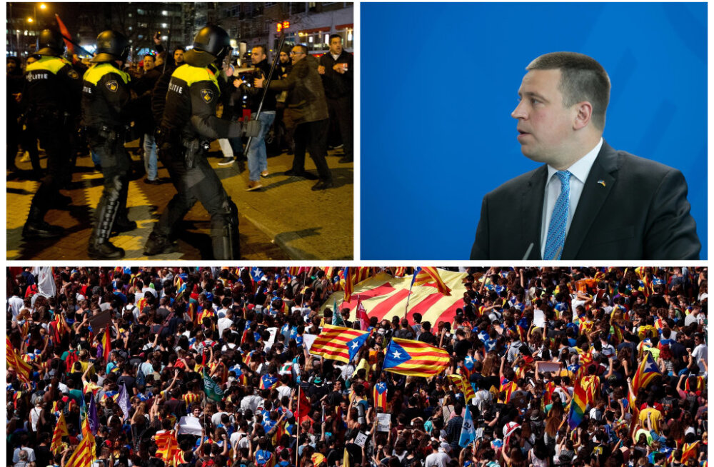 Jüri Ratas: Hispaania peab olema territoriaalselt terviklik! Eesti nende siseasjadesse ei sekku, see pole kohane