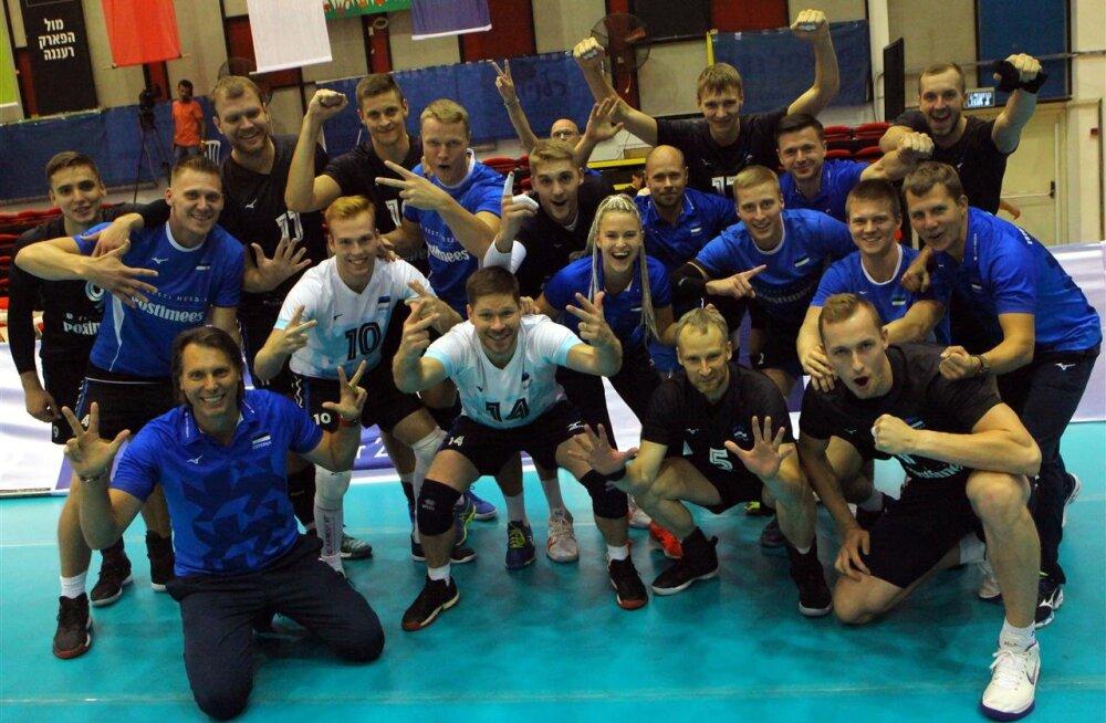 OTSEBLOGI   Tehtud! Eesti võrkpallikoondis surus Iisraeli nurka ja jõudis juba viiendat korda EM-finaalturniirile!