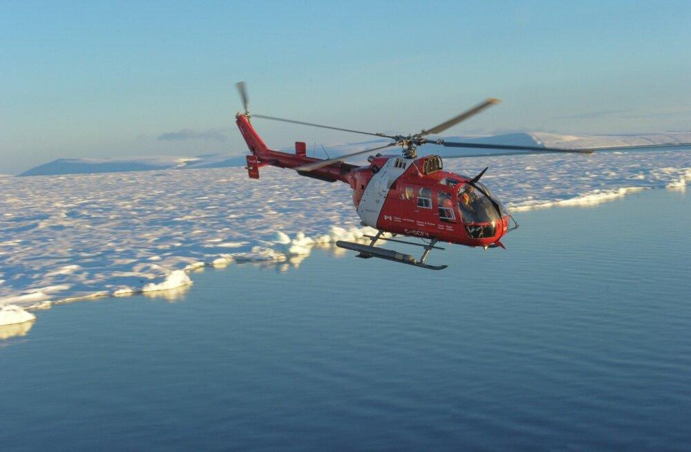 Jääs on õlireostusega tegeleda palju keerulisem kui avavees.