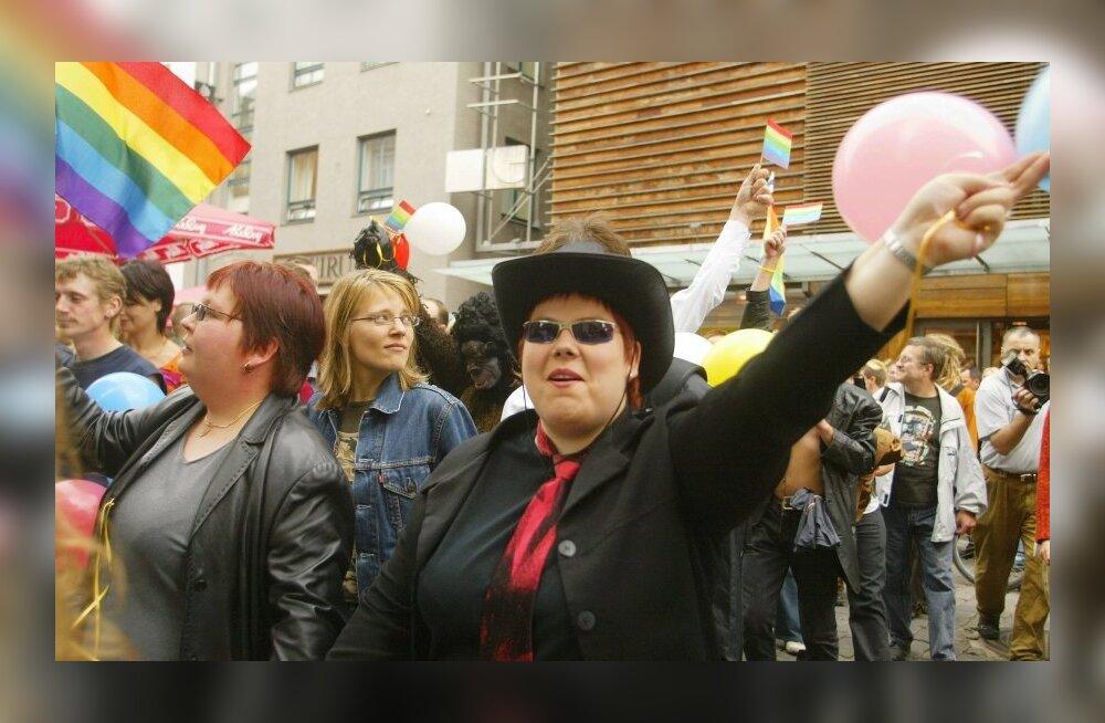 Tallinnas rünnati homoparaadi