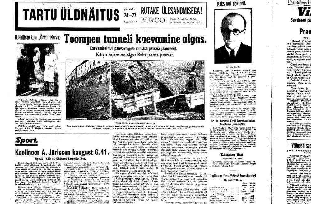 Sõjahõng pani Toompea alla mitut salakäiku kavandama