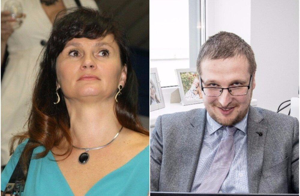 RKAS-i endine kliendisuhtehaldur Kristel Meier ja RKAS-i praegune juht Tanel Tiits