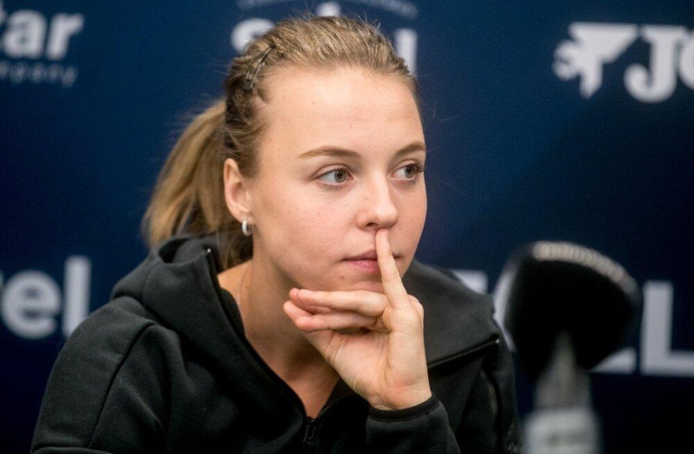 Anett Kontaveit vaatas möödunud hooajale tagasi Eesti tenniseliidu aastalõpu pressikonverentsil.