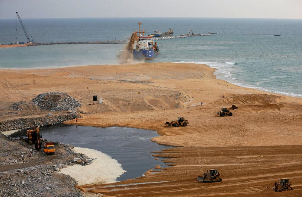 Ootamatu defitsiit: Aasias napib liiva, Indias hangeldab sellega lausa spetsialiseerunud maffia