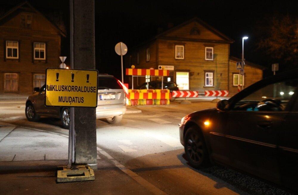 Борьба со злополучным перекрестком: пересечение Теллискиви по улице Роху запрещено