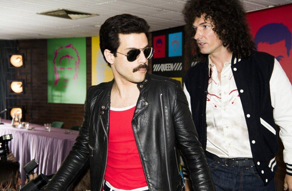 """""""Bohemian Rhapsody"""" võitis parima draamafilmi ning parima draamafilmi meespeaosa (Rami Malek) auhinna."""