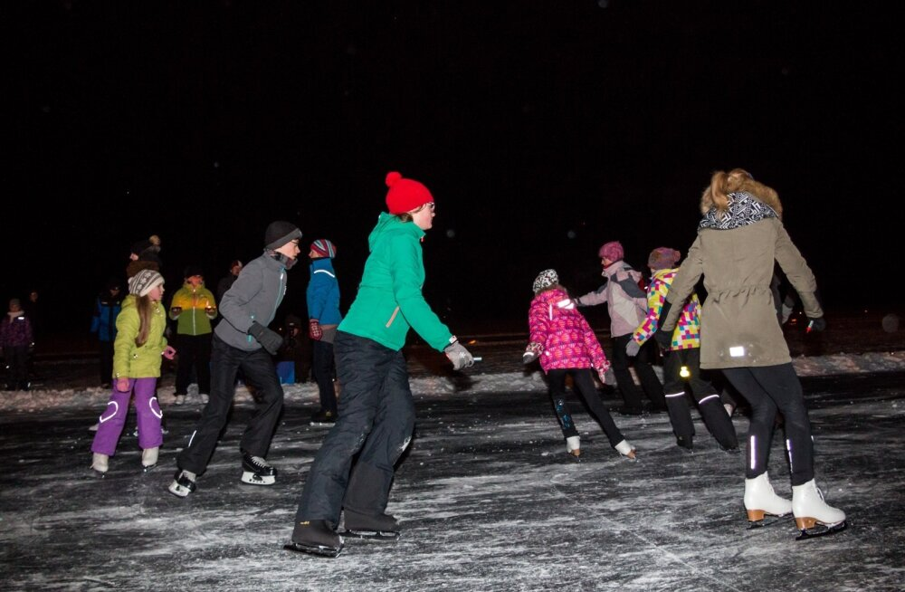 12 августа в Нарве проведут дискотеку на льду для молодежи ближайших муниципалитетов