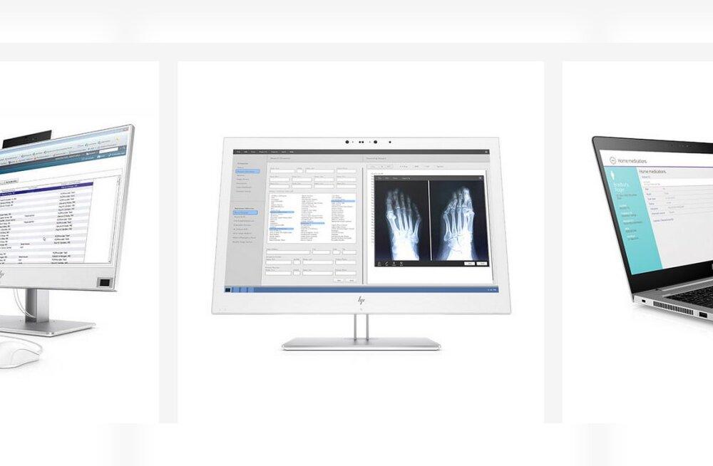 Germofoobi unistus: HP kaks uut arvutit ja monitor on eriti vastupidavad... puhastusvahenditele