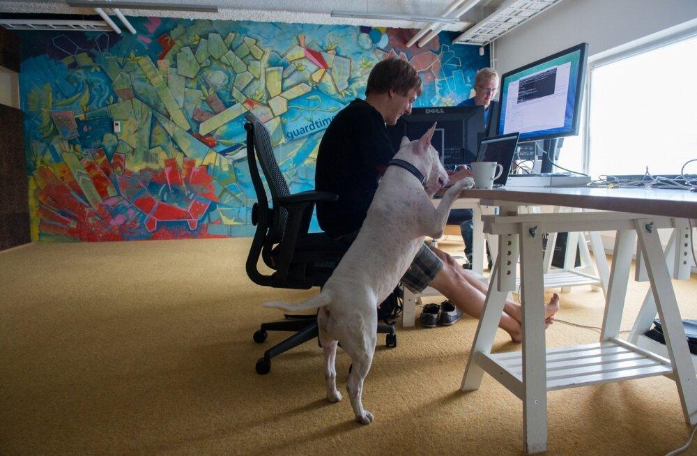 Küberturvafirma Guardtime'i töötajaid võib edaspidi oodata võimalus pääseda tõeliselt suurte klientideni.