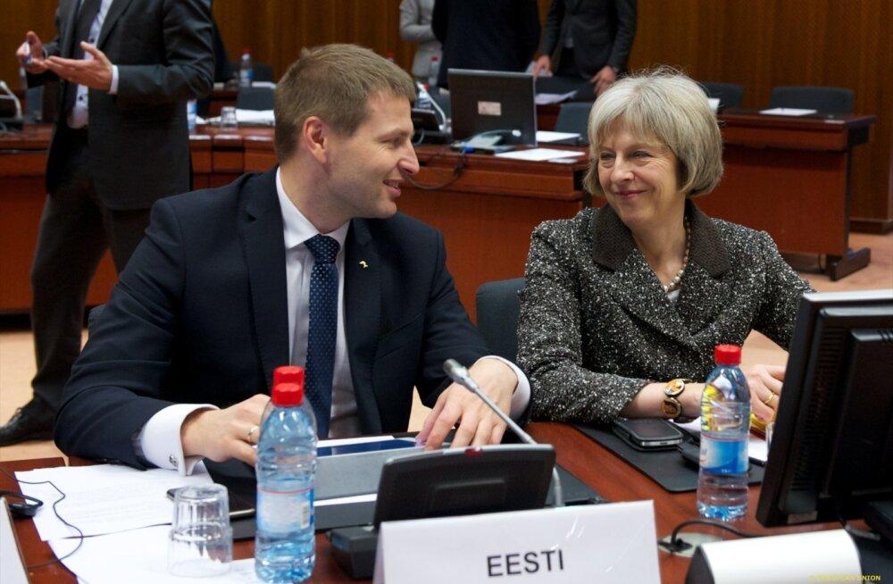 Siseminister Hanno Pevkur on väheseid eestlasi, kes teab hästi uut Briti peaministrit Theresa Mayd. Euroopa Liidu nõukogudes istuvad Eesti ja Suurbritannia esindajad tavaliselt kõrvuti. Nii on see olnud ka siseministrite kohtumistel.