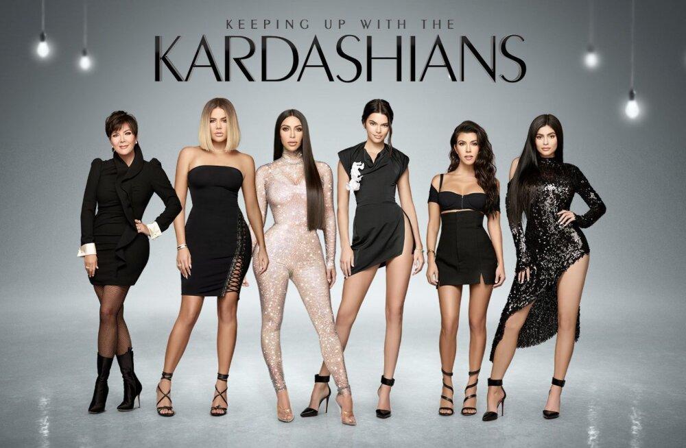 Maailma kuulsaim teleperekond Kardashianid jõuab Kanal 11 ekraanile