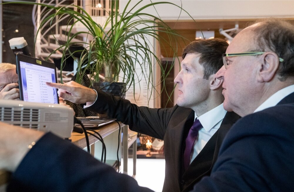 Mart (ees) ja Martin Helme lootsid, et KOV valimistel suureneb erakonna mõju märkimisväärselt.