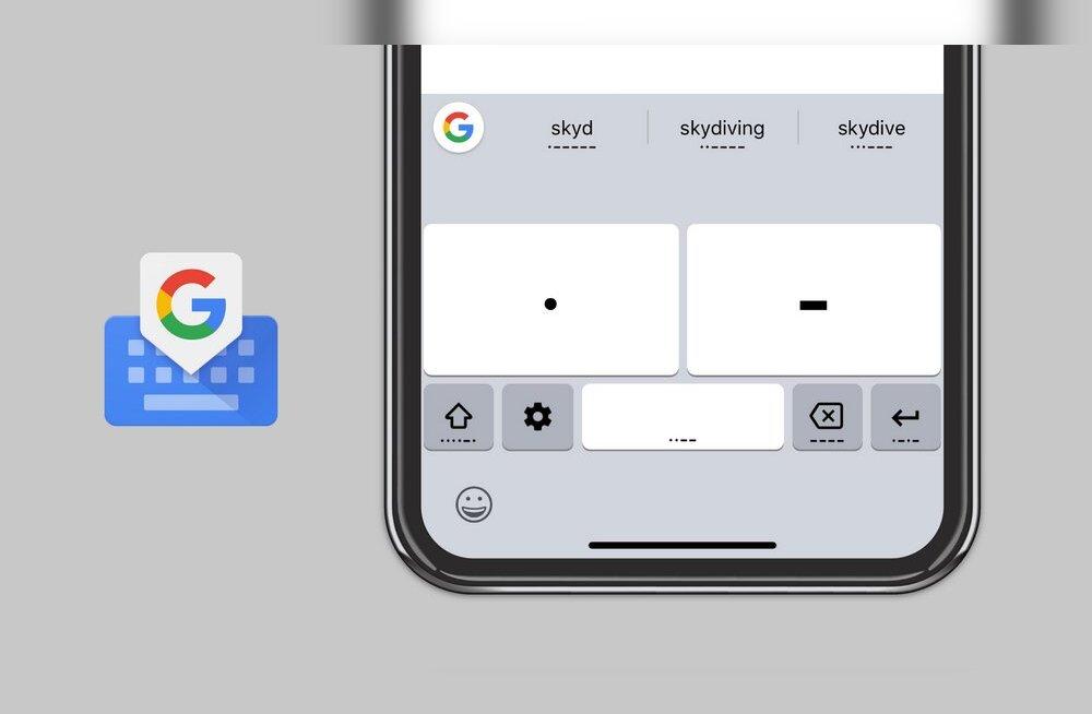 Google lisas oma klaviatuurile ebatavalise sõnumeerimismeetodi