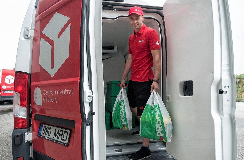 Prisma Peremarket kasutab kojuveo teenuse osutamiseks DPD Eesti abi, kullerfirma toimetab kahes Tallinna poes komplekteeritud kauba kliendini.