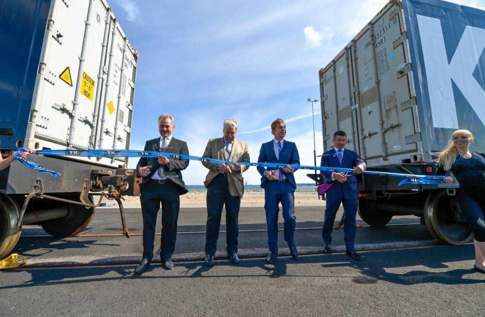 Muuga uue konteinerterminali avamine
