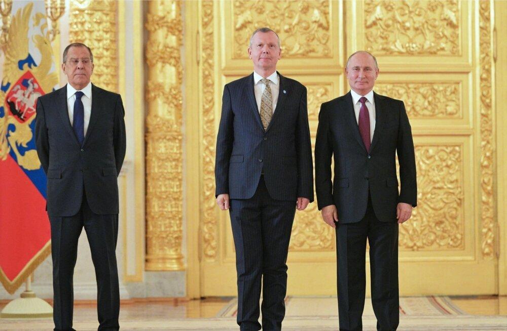 Putin: Venemaa on valmis konstruktiivseks koostööks Eestiga teineteise huvide arvestamise alusel