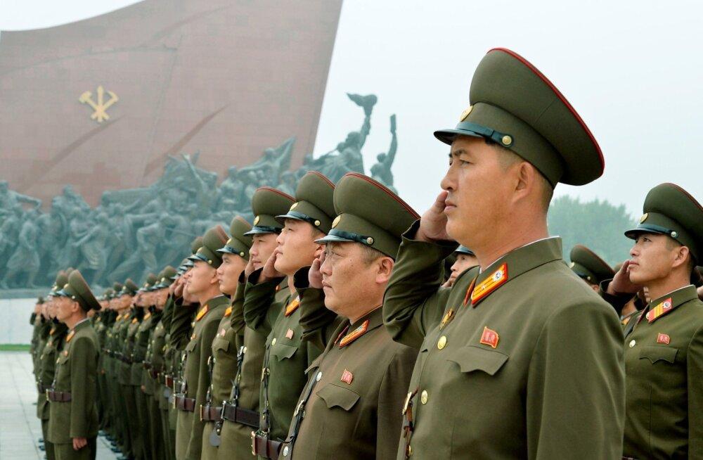 Põhja-Korea rahukomitee: USA tuleb surnuks peksta nagu marutõbine koer ja Jaapan tuumapommiga merre uputada