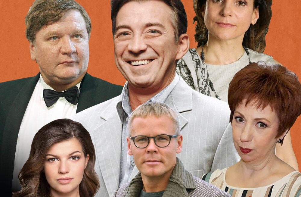 Любимые российские актеры представят в Таллинне авантюрную комедию