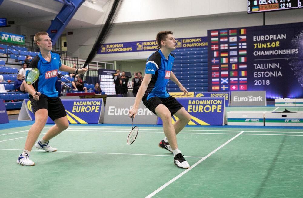 Eesti noored sulgpallurid alustasid kodust EM-i kaotusega