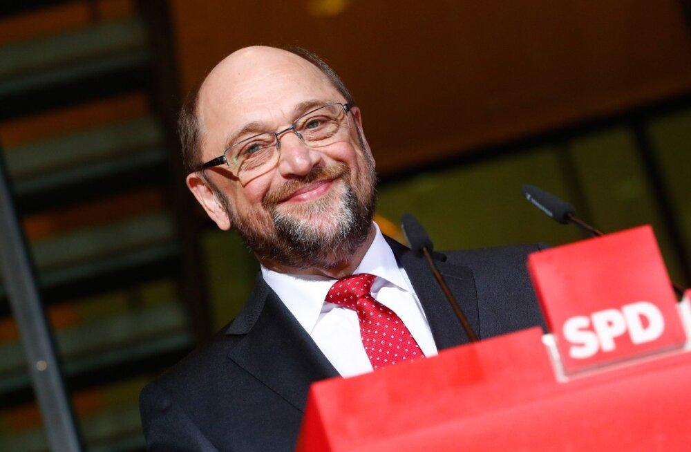 Saksa sotsid nimetasid kantslerikandidaadiks europarlamendi endise presidendi Martin Schulzi