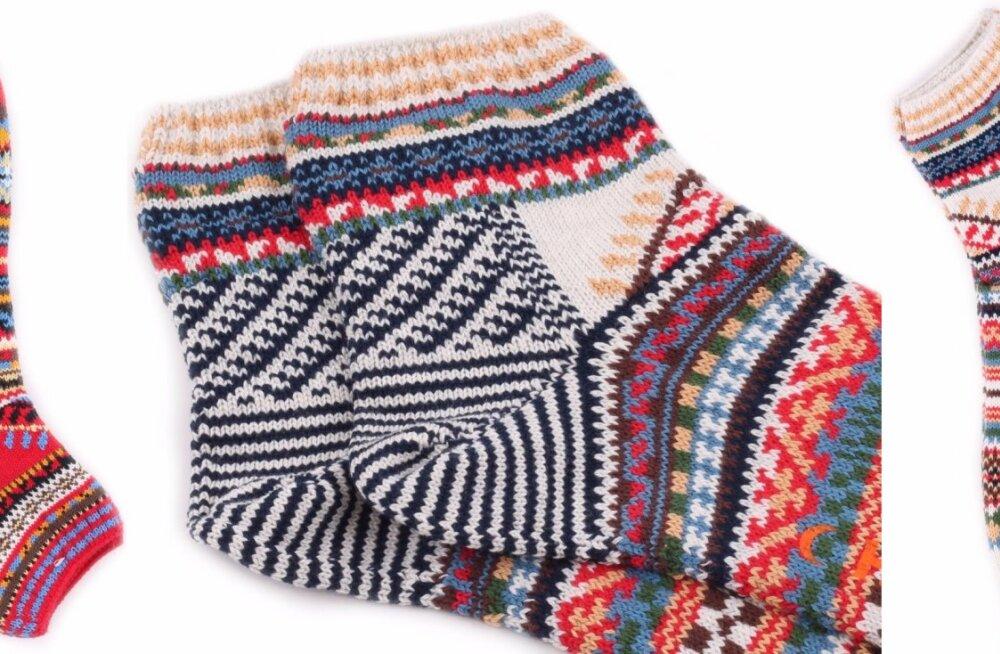 Jaapani sokivabrik müüb internetis Kihnu sokke