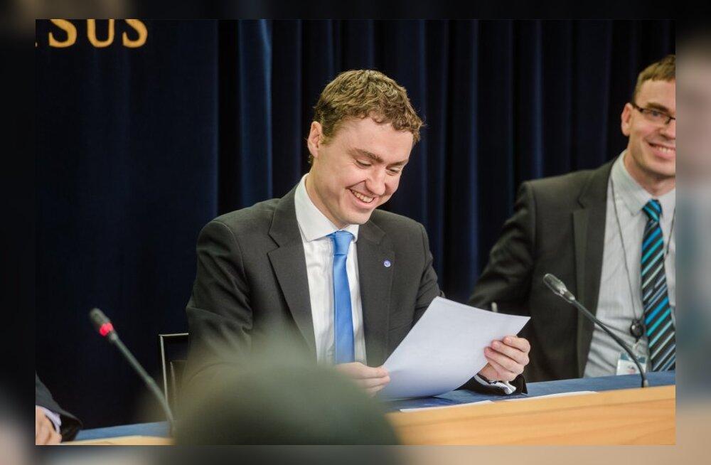 Taavi Rõivase valitsuse esimene pressikonverents