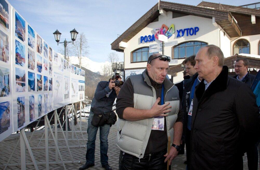 Putin ja Potanin on head kamraadid.