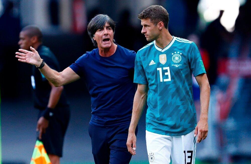 Thomas Müller lõi kahe eelmise MM-iga Joachim Löwi juhendatavas koondises kokku kümme MM-väravat. Seekord oli Müller oma paremate päevade hale vari.