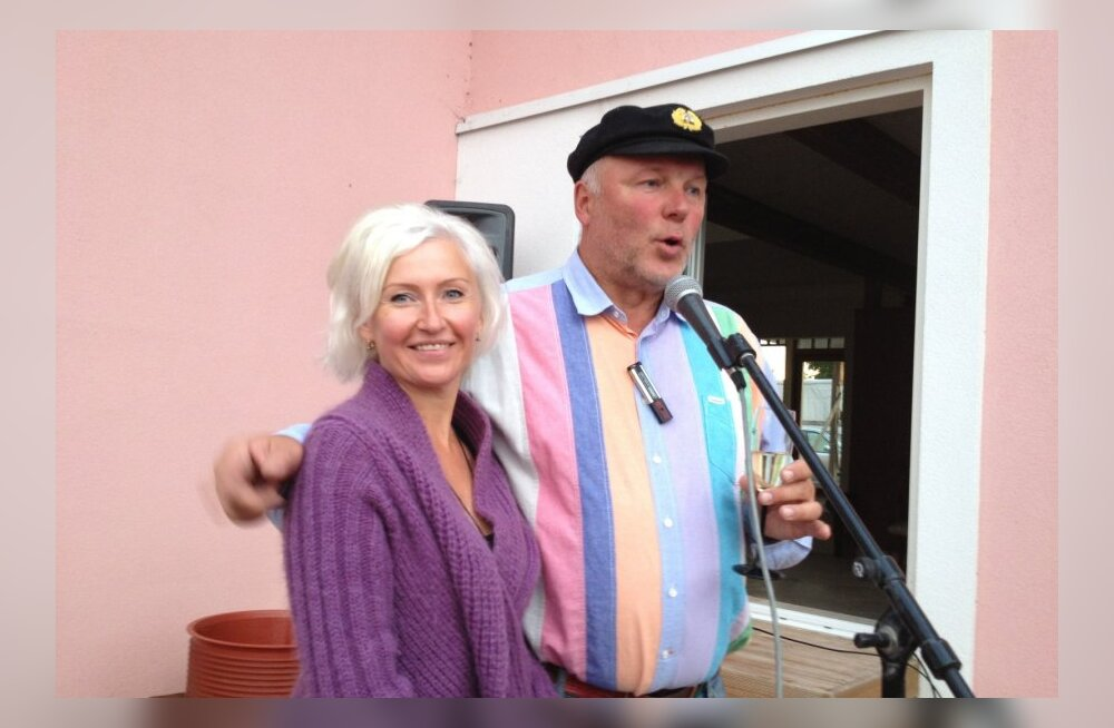 Kristiina Ojuland ja Raimo Kägu